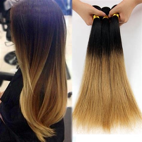 two tone ombre hair extensions aliexpress buy 4pcs 7a ombre hair weave