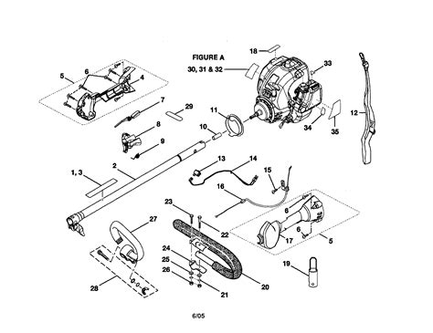 ryobi string trimmer parts diagram ryobi trimmer parts model ry30000 sears partsdirect