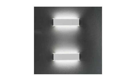 braga illuminazione braga illuminazione applique gamma led a lada da parete