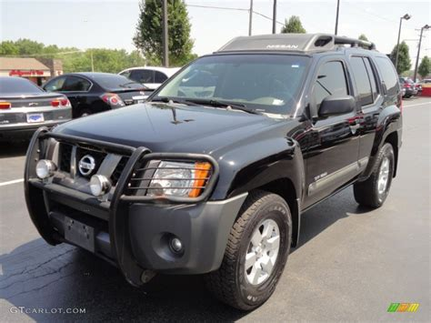 2005 black nissan xterra road 4x4 52086940 gtcarlot car color galleries