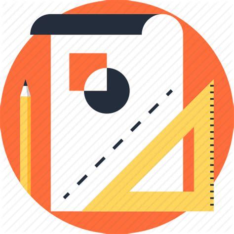design icon in sketch art concept design development drawing graphic paper