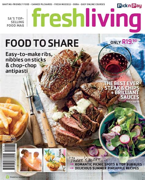 fresh living fresh living feb 2015 by pick n pay issuu