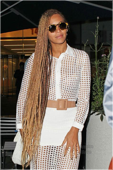 braids for the office brown and blonde micro braids beyonce braids 2014
