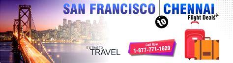 cheap flights to chennai from san francisco