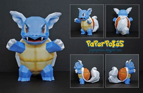 How To Make An Origami Squirtle - paperpok 233 s pok 233 mon papercraft wartortle