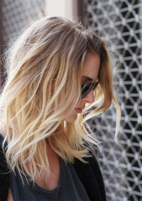 how to ombre shoulder length hair shoulder length ombre hair