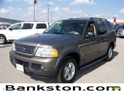 2003 ford explorer xlt colors