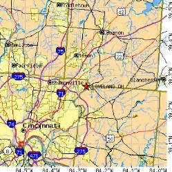 Loveland Ohio Map by Loveland Ohio Oh Population Data Races Housing