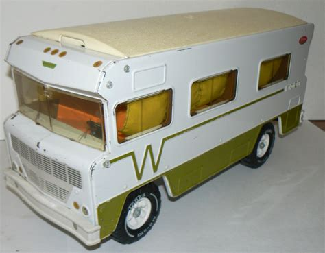 The Awning Man Mighty Tonka Winnebago Indian 1970 Toy Camper Rv By Krausehaus