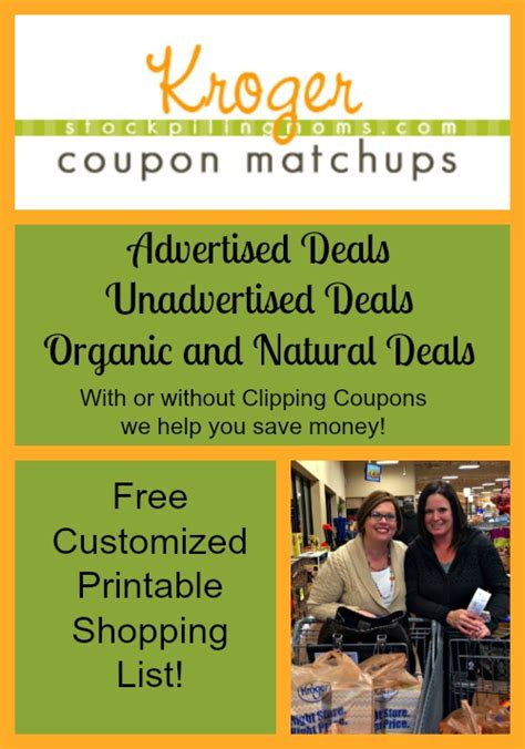 printable grocery coupons for kroger kroger grocery store deals coupon matchup