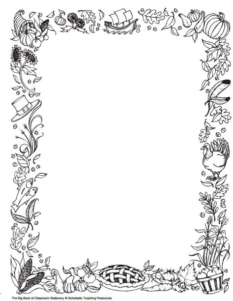 printable november stationery thanksgiving printables and word walls to use now scholastic