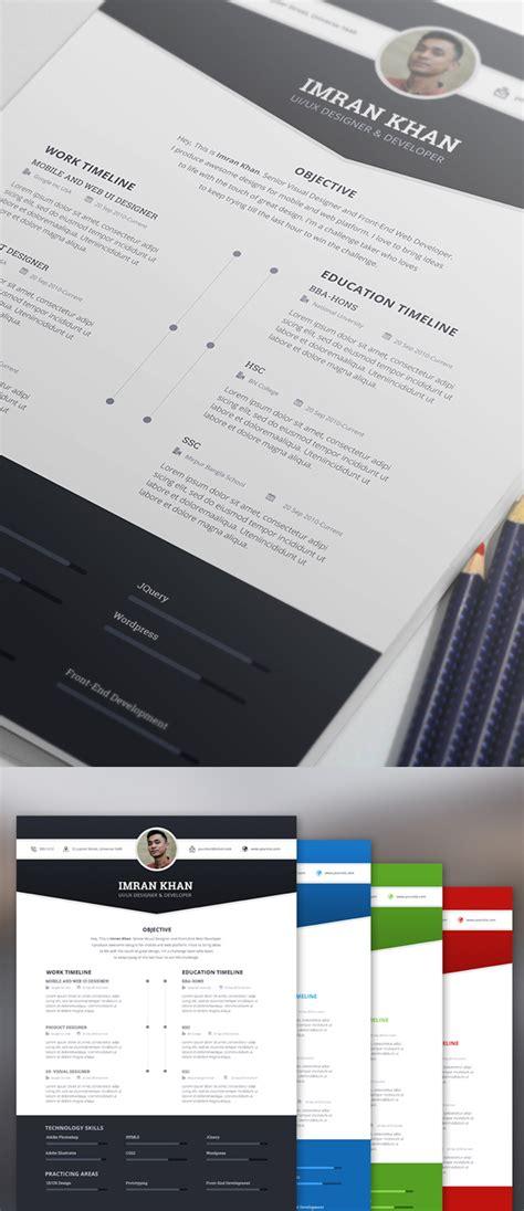 graphic designer cv template psd free 15 free modern cv resume templates psd freebies graphic design junction