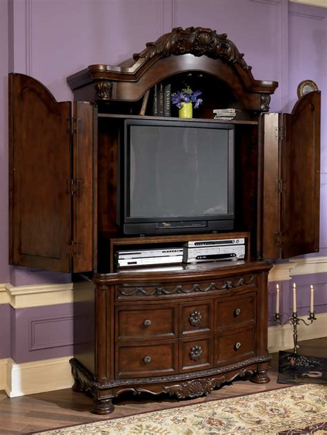 ashley north shore armoire ashley furniture bedroom set with leather headboard home