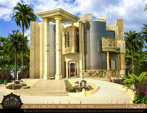 Villa Exterior Design | villa exterior design abu dhabi algedra interior design