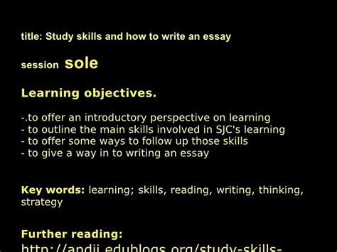 How To Improve My Essay Writing Skills by Learning Skills And Essay Writing Intro