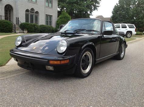 1986 Porsche 911 Targa For Sale 1986 Porsche 911 Targa German Cars For Sale