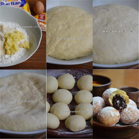 cara membuat donat vanholand diah didi s kitchen donat kentang isi coklat