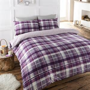 brushed cotton duvet sets angus single brushed cotton duvet cover set plum achica