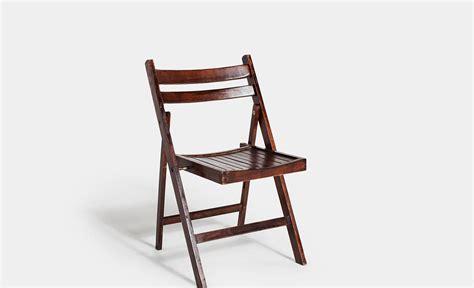 silla de madera plegable alquiler silla madera nogal plegable