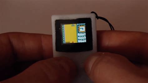 game boy mod uk this mini 3d printed game boy mod is almost too small