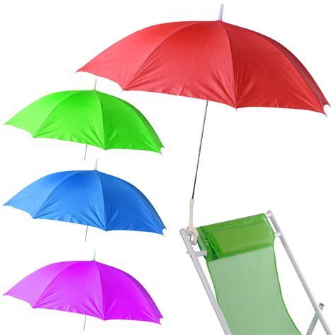 clip on table umbrella clip on chair parasol umbrella garden deck sun