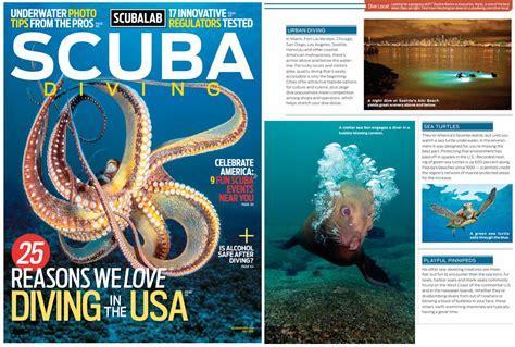 scuba dive magazine scuba diving magazine july 2013 living
