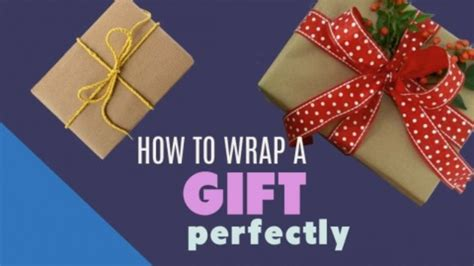 how to perfectly wrap a gift how to perfectly gift wrap presents