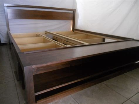 diy bed frame with storage smart ideas bed frame with storage full modern storage bed