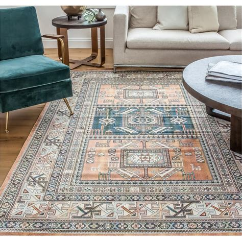 sams international rugs sams international sonoma myan aqua 7 ft 10 in x 11 ft 2 in area rug 7067 8x10 the home depot