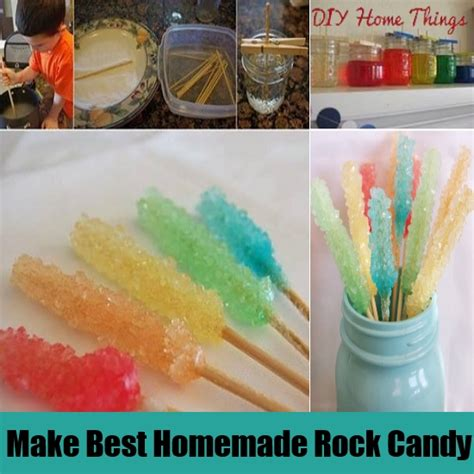 how do you make rock candy at home