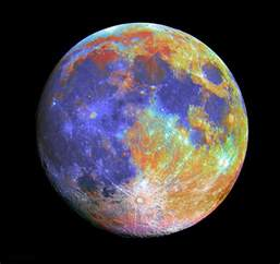 what is the color of the moon f s the elusive true color of the moon