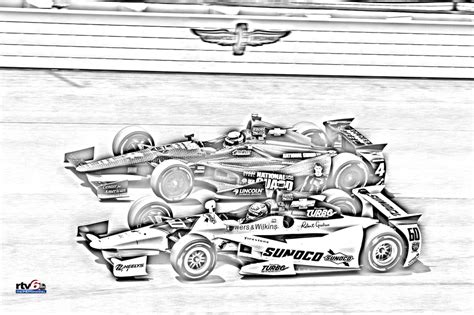 coloring pages indy cars print indycar coloring pages theindychannel com