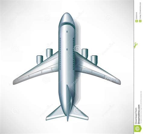 Air Plane Downward View Stock Images Image 22505444 A Is For Airplan