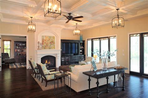 custom living room bayshore estates custom home mediterranean living room ta by devonshire custom homes