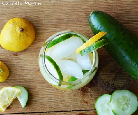 Lemon Cucumber Detox by Lemon Cucumber Detox Water Recipe Optimistic