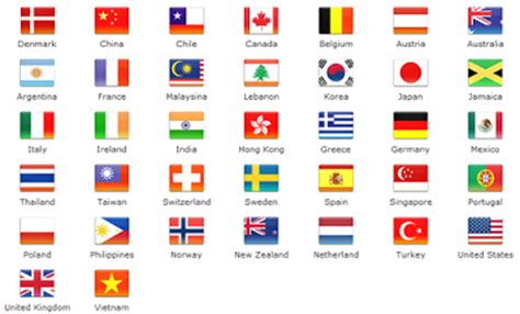 printable miniature flags of the world 5 best images of miniature printable world flags