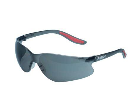 elvex xenon grey anti fog safety glasses the modern