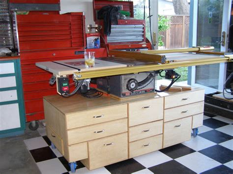 Sears Table Ls by Table Saw Mobile Cart By Mwill87428 Lumberjocks Woodworking Community