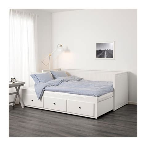 daybed ikea hemnes daybed frame with 3 drawers ikea