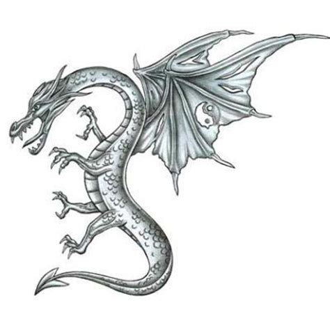 black and grey dragon tattoo designs black and grey dragon tattoo design tattoowoo com