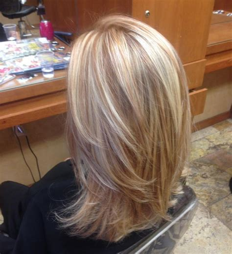 hi and low lights on layered hair 25 best ideas about blonde low lights on pinterest