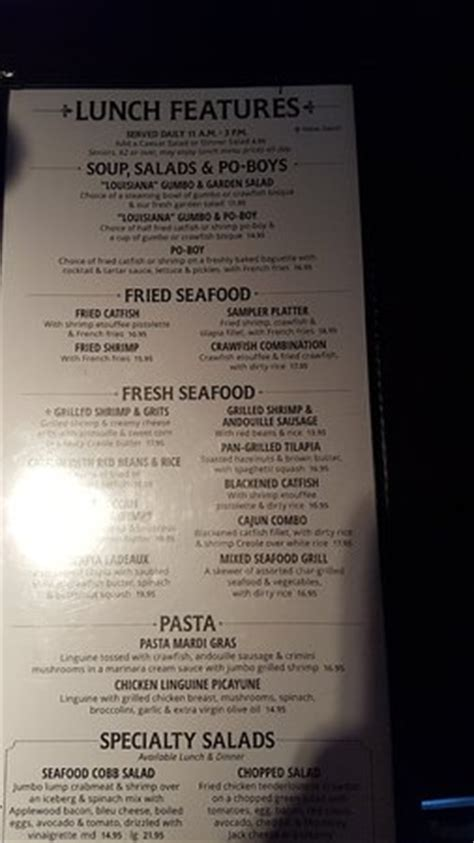 pappadeaux seafood kitchen menu prices fried oysters baked potato picture of pappadeaux