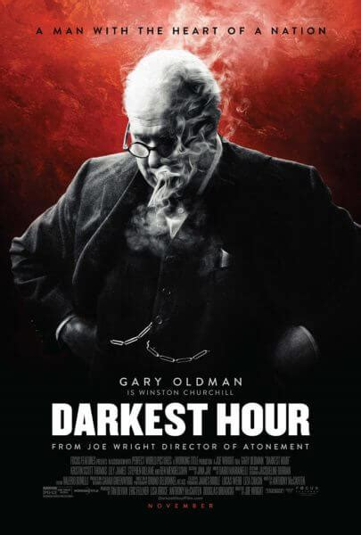 darkest hour nationwide release darkest hour unveils a new poster with gary oldman as
