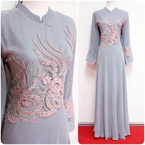 Baju Jubah jubah azalea baju kurung empire