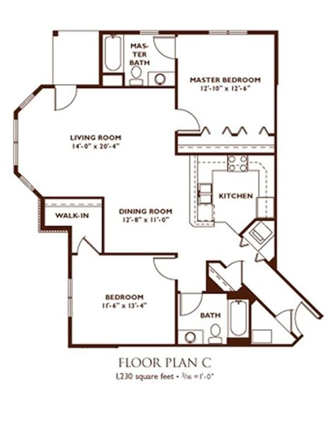 Two Bedroom Floor Plan by Madison Apartment Floor Plans Nantucket Apartments Madison