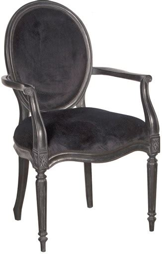 Vintage Dining Room Chairs Black Velvet French Bedroom Chair Ebony From Out There