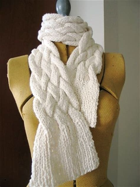 braided cable knit pattern 104 best images about knit scarf pattern on