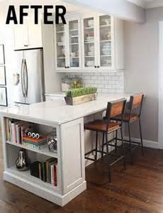 small kitchen islands with breakfast bar 25 best ideas about small breakfast bar on