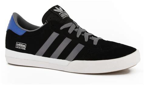 Grey Theme by Adidas Lucas Pro Skate Shoes Black Tech Grey Bluebird