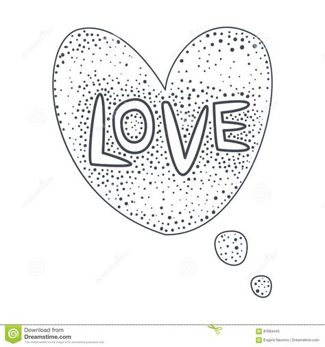 templates for the word love word love hand drawn comic speech bubble template